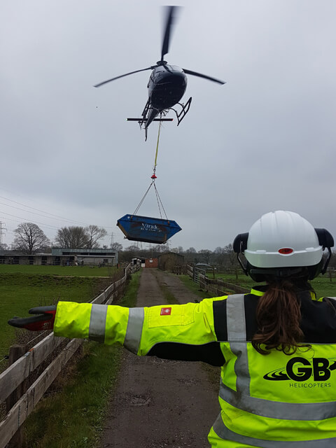 Helicopter Load lifting HELSO