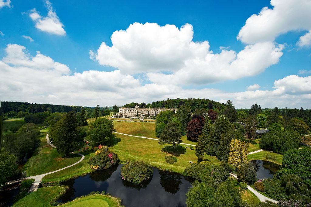 bovey castle helicopter charter
