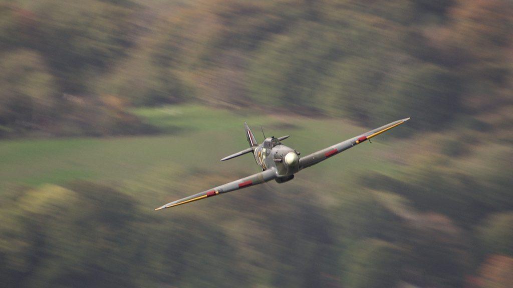 2 seater warbird workshop hurricane flying
